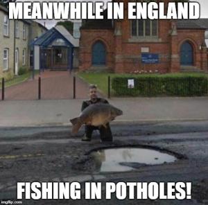 pothole meme